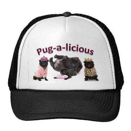 Pug-A-Licious Trucker Hat