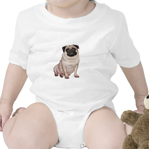Pug (A) Rompers