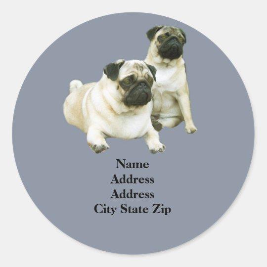 Pug Address Label
