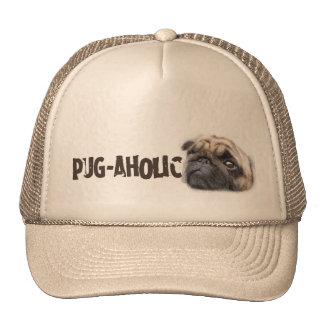 Pug-aholic Trucker Hat