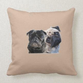 pug almofada brown style pillows
