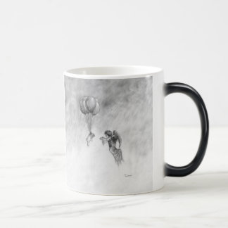 Pug and Angel Magic Mug
