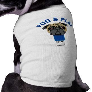 Pug and Play Doggie Shirt