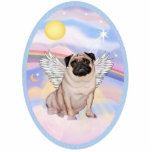 "Pug Angel (#17 in Heaven&#39;s Clouds Statuette<br><div class=""desc"">A Pug angel floating in heaven&#39;s pastel clouds,  free to go home to Rainbow Bridge and be cared for by the angels while they make new friends.</div>"