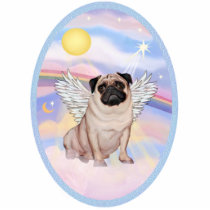 Pug Angel (#17 in Heaven's Clouds Statuette