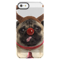 Uncommon iPhone 5/5s Permafrost® Deflector Case with Pug Phone Cases design