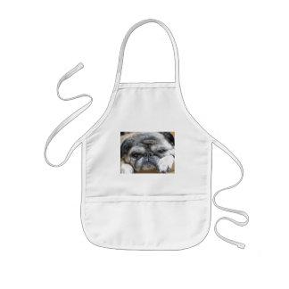 pug kids' apron