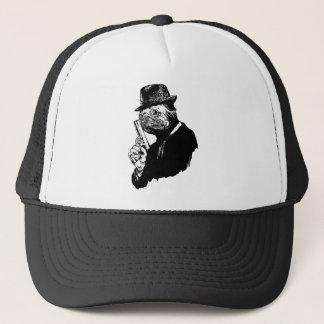 Pug Assassin Trucker Hat