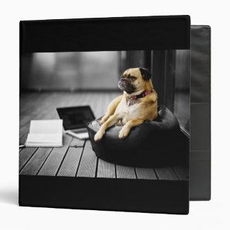 Pug at Rest Binders