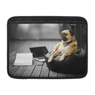 Pug at Rest MacBook Air Sleeve