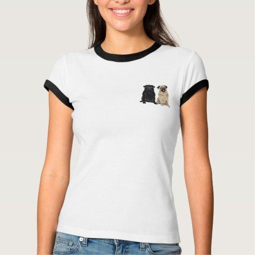 Pug Authority Women's Ringer T-Shirt