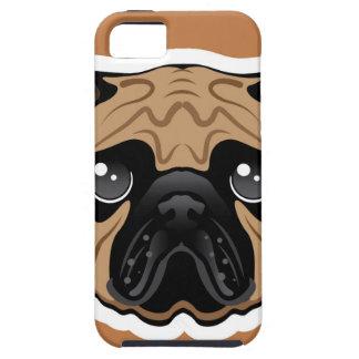 Pug Avatar Face Vector iPhone SE/5/5s Case