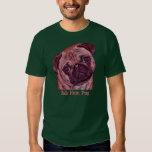 "Pug ""Bah Hum Pug"" Men's T-shirt"