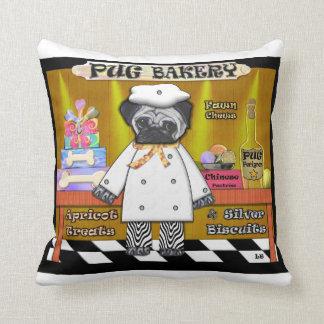 Pug Bakery American MoJo Pillow