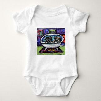 Pug Bathtime T-shirt