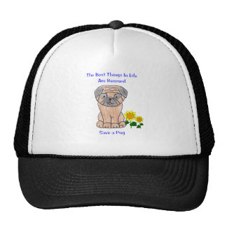 Pug Best Things In Life Hat