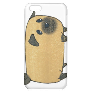 Pug Biscuit Dog Cover For iPhone 5C