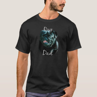 Pug (blk) Dad 2 T-Shirt