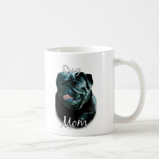Pug (blk) Mom 2 Coffee Mug