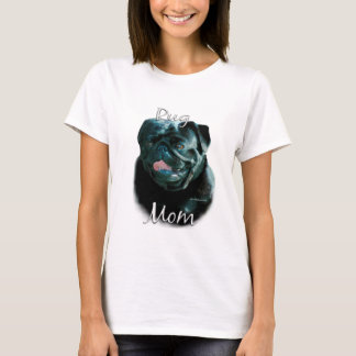 Pug (blk) Mom 2 T-Shirt
