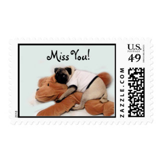 Pug Blues Stamps