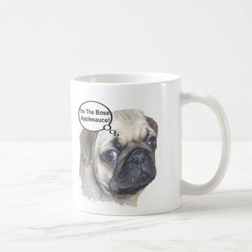 Pug Boss Mugs