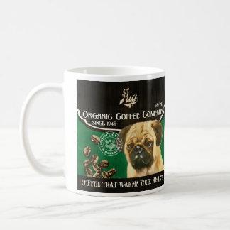 Pug Brand – Organic Coffee Company Coffee Mugs