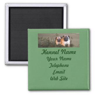 Pug Breeder Magnet