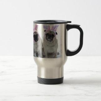 Pug bunny's travel mug