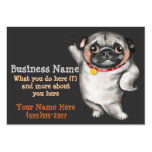PUG business card template_pet sitting,dog walking