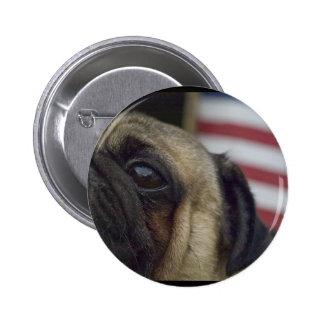 Pug Button #4