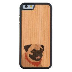 Carved ® iPhone 6 Bumper Wood Case with Mastiff Phone Cases design
