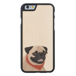Carved ® iPhone 6 Bumper Wood Case with Mastiff Phone Cases design