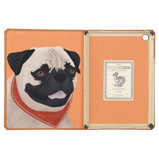 Pug Cartoon iPad Air Covers