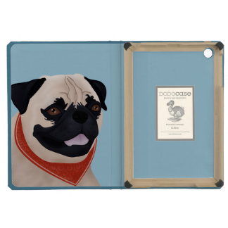 Pug Cartoon iPad Mini Retina Cases