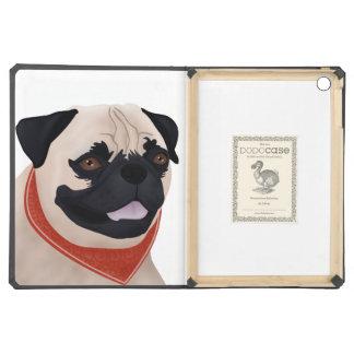 Pug Cartoon iPad Air Cover