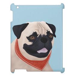 Case Savvy Glossy Finish iPad Case with Mastiff Phone Cases design