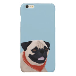 Case Savvy iPhone 6 Plus Glossy Finish Case with Mastiff Phone Cases design