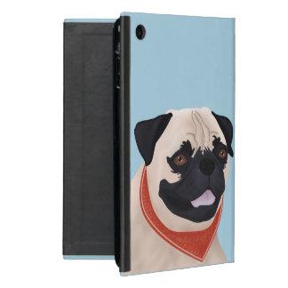 Pug Cartoon Covers For iPad Mini