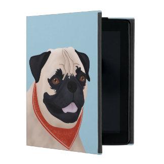 Pug Cartoon iPad Cover