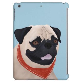 Pug Cartoon Cover For iPad Air