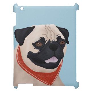 Pug Cartoon iPad Case