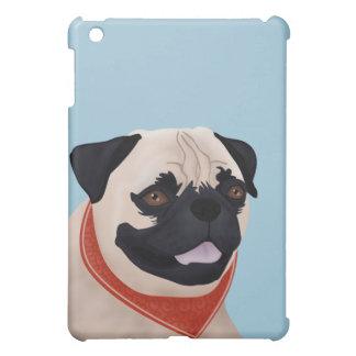 Pug Cartoon iPad Mini Cover