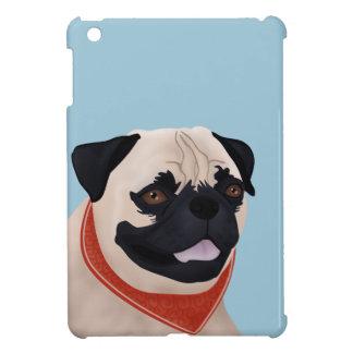 Pug Cartoon Case For The iPad Mini