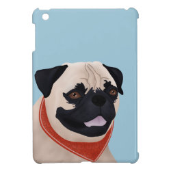 Case Savvy iPad Mini Glossy Finish Case with Mastiff Phone Cases design