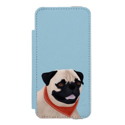 Incipio Watson™ iPhone 5/5s Wallet Case with Mastiff Phone Cases design