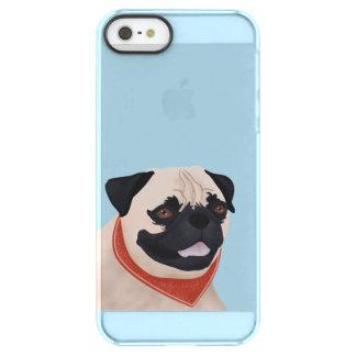Pug Cartoon Permafrost® iPhone SE/5/5s Case