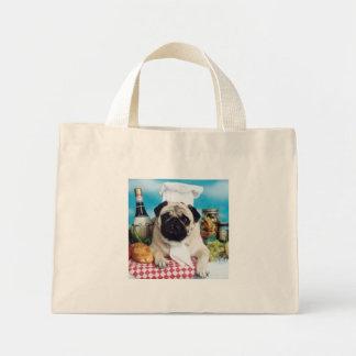 Pug Chef Tote Bag