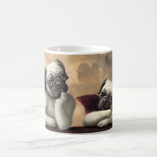 Pug Cherubs Inspired by Raphael Coffee Mug