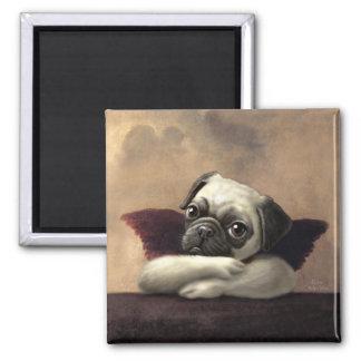Pug Cherubs Inspired by Raphael Refrigerator Magnets